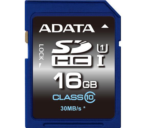 ADATA SDHC 16GB UHS-I Premier,Class 10 (ASDH16GUICL10-R)
