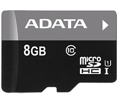 ADATA 8GB MicroSDHC Premier UHS-I Class 10 (AUSDH8GUICL10-R)
