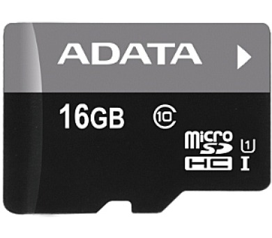 ADATA 16GB MicroSDHC Premier UHS-I Class 10 (AUSDH16GUICL10-R)