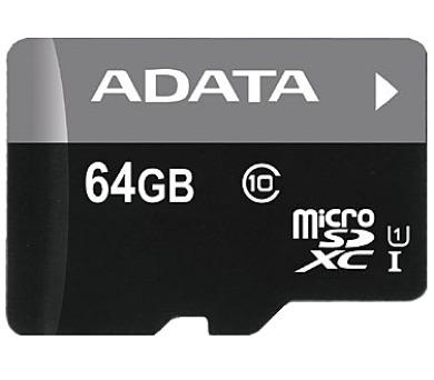 ADATA 64GB MicroSDXC Premier UHS-I Class 10 (AUSDX64GUICL10-R)