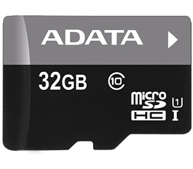 ADATA 32GB MicroSDHC Card+USB micro readerClass 10