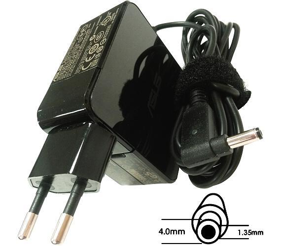 Asus orig. adaptér 45W19V (BLK) s EU plugem + DOPRAVA ZDARMA
