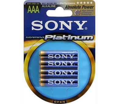 SONY Alkalické baterie AM4PTB4D