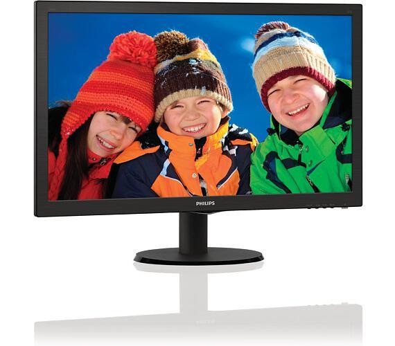 Philips 243V5LHAB- Full HD,DVI,HDMI,rep (243V5LHAB/00) + DOPRAVA ZDARMA