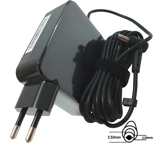 Asus orig. adaptér 65W19V 2P W/O CORE s EU plugem (B0A001-00042800)
