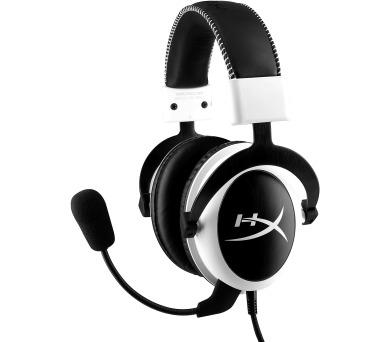 HyperX Cloud herní headset bílý