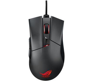 ASUS ROG Gladius gaming mouse + dárek ASUS CERBERUS Pad SPEED (90MP0081-B0UA00)