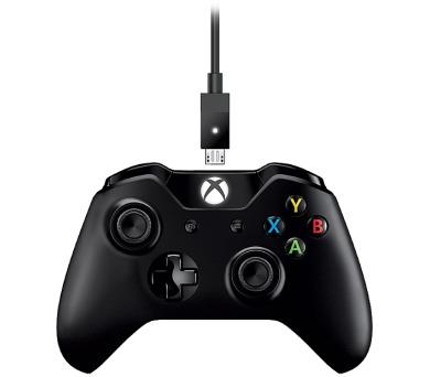 Microsoft Xbox One Gamepad + kabel pro Windows,USB + DOPRAVA ZDARMA