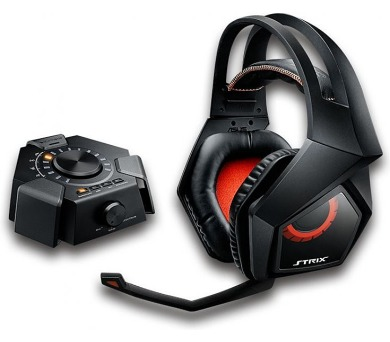 ASUS STRIX DSP gaming headset + dárek Echelon gaming pad za 1 CZK/0,05 EUR