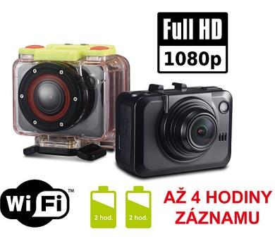 iGET ADVENTURE W5000 FullHD sport.kamera 2xbaterie