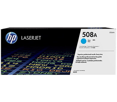 HP 508A tisková kazeta azurová + DOPRAVA ZDARMA