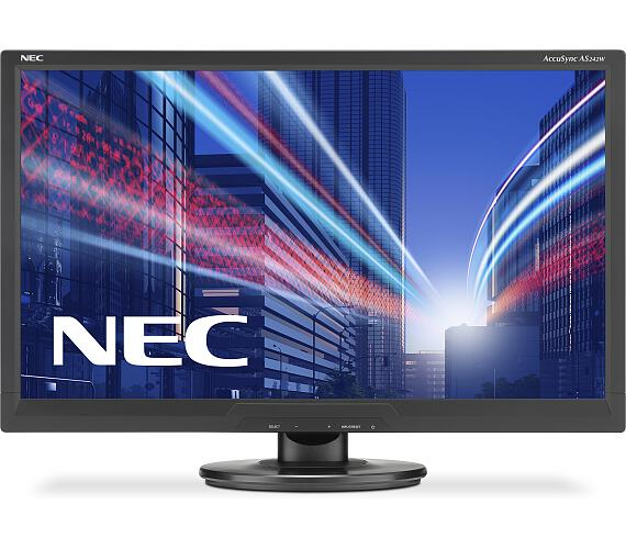NEC AS242W,1920x1080,TN,250cd,BK (60003810) + DOPRAVA ZDARMA