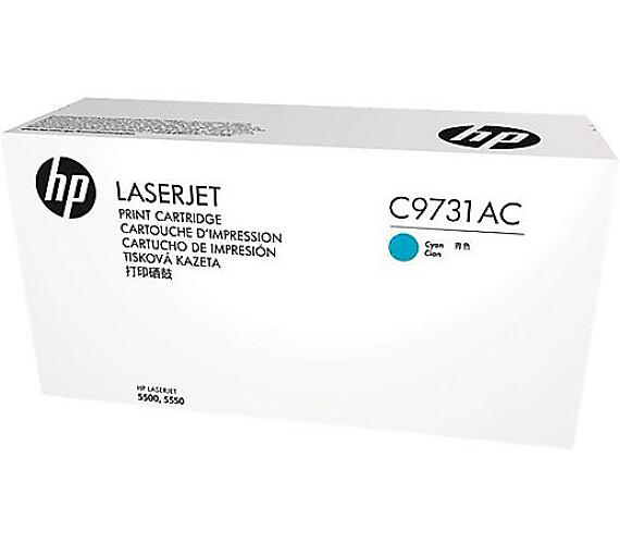 HP 645A - azurový Contract Toner + DOPRAVA ZDARMA