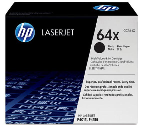 HP 64X - černý Contract Toner