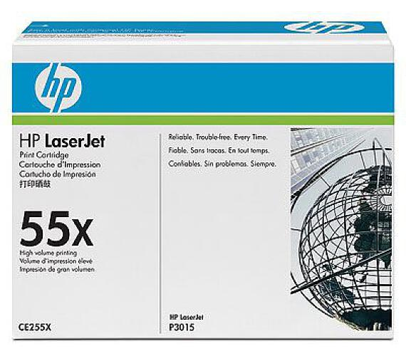 HP 55X - černý Contract Toner