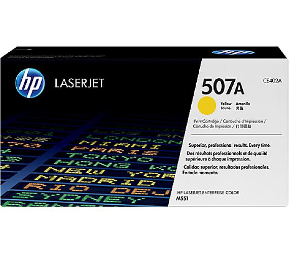 HP 507Y - žlutý Contract Toner
