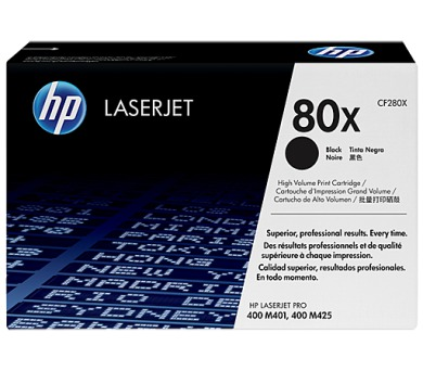 HP 80X - černý Contract Toner