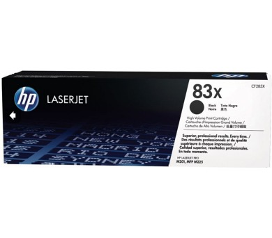 HP 83X - černý Contract Toner