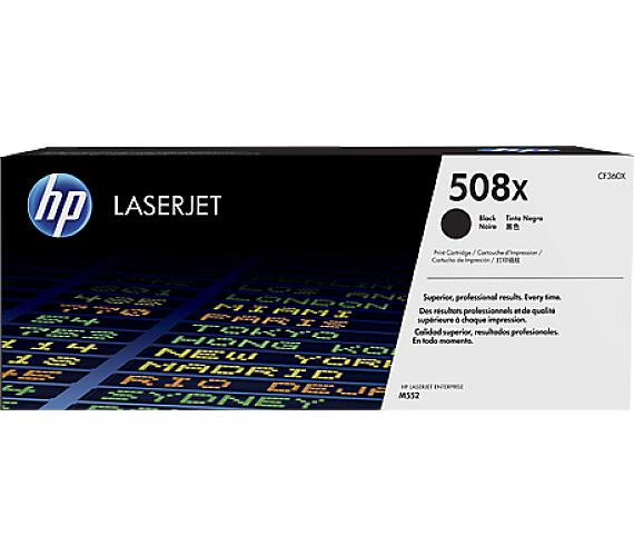 HP 508X - černý Contract Toner