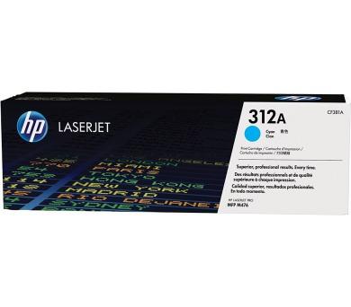 HP 312A - azurový Contract Toner