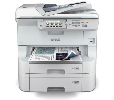 EPSON WorkForce Pro WF-8590DTWF (220V) + 2x XXL černý inkoust zdarma (C11CD45301BT)