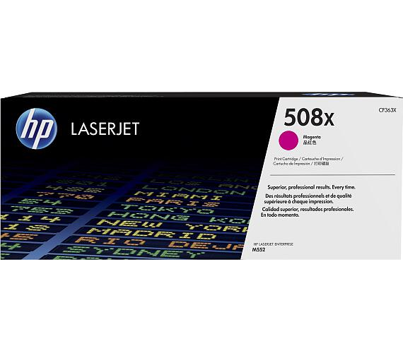 HP laserjet purpurový toner velký + DOPRAVA ZDARMA