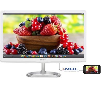 Philips 276E6ADSS - FHD,IPS,HDMI,MHL,bílý + DOPRAVA ZDARMA