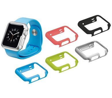 TRUST Pouzdra Slim Case pro Apple Watch 42mm (5 kusů - 5 barev)