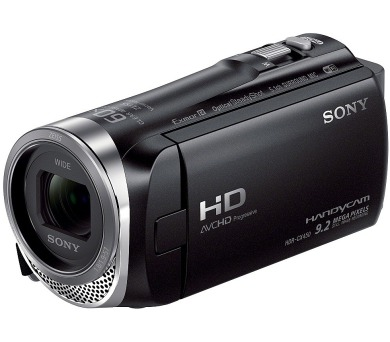 Sony HDR-CX450,černá/30xOZ/foto 9,2Mpix/WiFi/NFC (HDRCX450B.CEN)