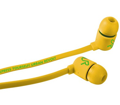 TRUST Duga In-ear-yellow