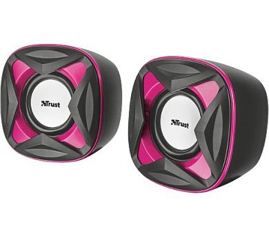 TRUST Xilo Compact 2.0 Speaker Set - pink