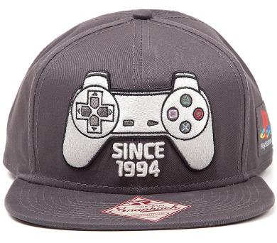 Čepice s kšiltem: Playstation - Motiv ovladač + DOPRAVA ZDARMA