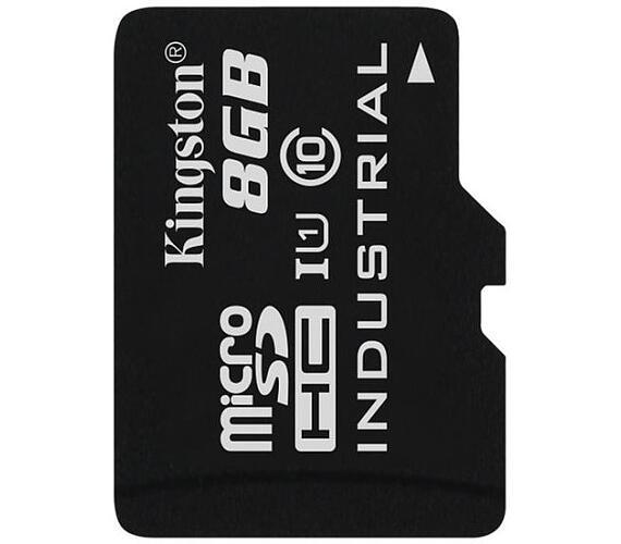 KINGSTON 8GB microSDHC / UHS-I Industrial Temp / U1 / bez adaptéru (SDCIT/8GBSP)