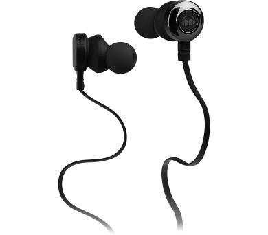 Monster Clarity špuntová sluchátka černá