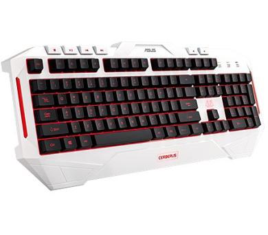 ASUS Cerberus arctic gaming keyboard (CZ/SK layout)