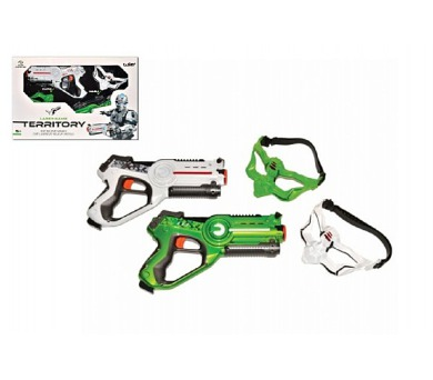 Territory laser game - double set (2 pistole + DOPRAVA ZDARMA