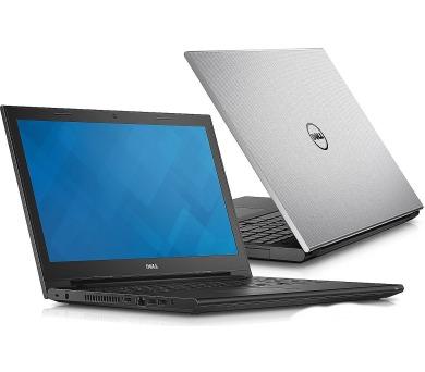 "Dell Inspiron 3542 15"" i3-4005U/4GB/500GB/820M-2G/DVD/HDMI/RJ45/WIFI/BT/MCR/W10UPG/2NBD/stříbrný"