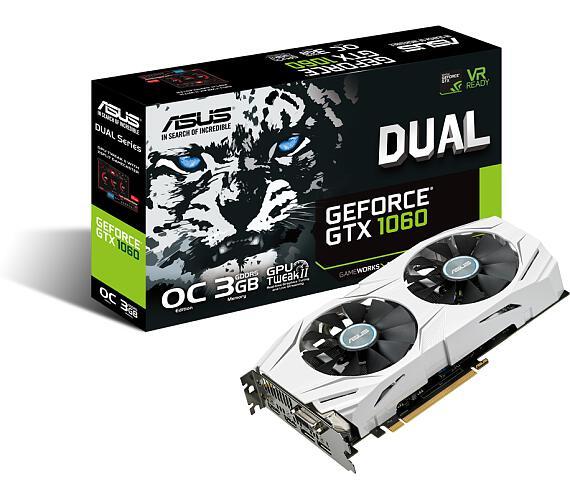 ASUS DUAL-GTX1060-O3G (90YV09X3-M0NA00)