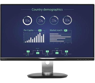 Philips 258B6QUEB-QHD,IPS,DP,USB-C,rep,piv (258B6QUEB/00) + DOPRAVA ZDARMA