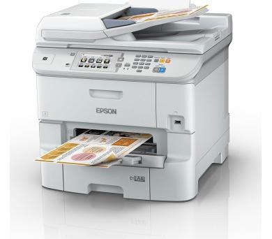 EPSON WorkForce Pro WF-6590DWF + 2x černý inkoust XXL s kapacitou 10 000 stran (C11CD49301) + 3 ro