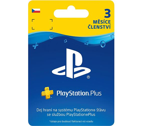 PlayStation Plus Card Hang 90 Days pro SK PS Store (PS719801054)