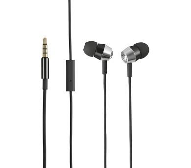 TRUST Crystal In-ear Headphones with microphone & remote - black (21269)
