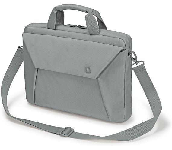 Dicota Slim Case EDGE 10-11.6 šedá (D31210)