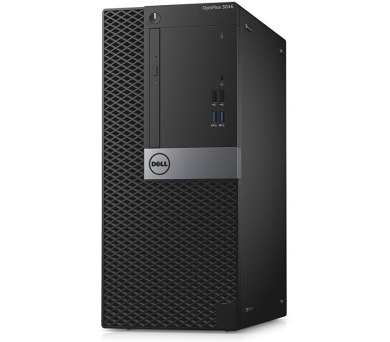 Dell PC Optiplex 3046M Pentium G4400/4GB/500GB/DP/HDMI/DVD-RW/W10P/3RNBD/Černý
