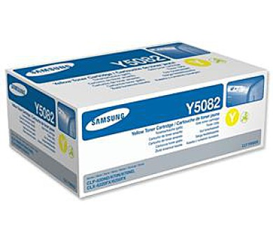 Samsung toner yellow CLT-Y5082S/ELS 2000 stran + DOPRAVA ZDARMA