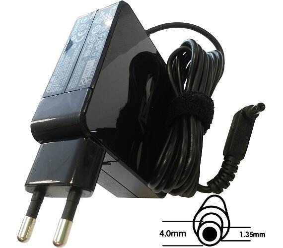 Asus orig. adaptér 65W19V (BLK) s EU plugem + DOPRAVA ZDARMA