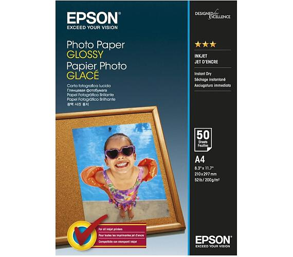 EPSON Photo Paper Glossy A4 50 listů (C13S042539)