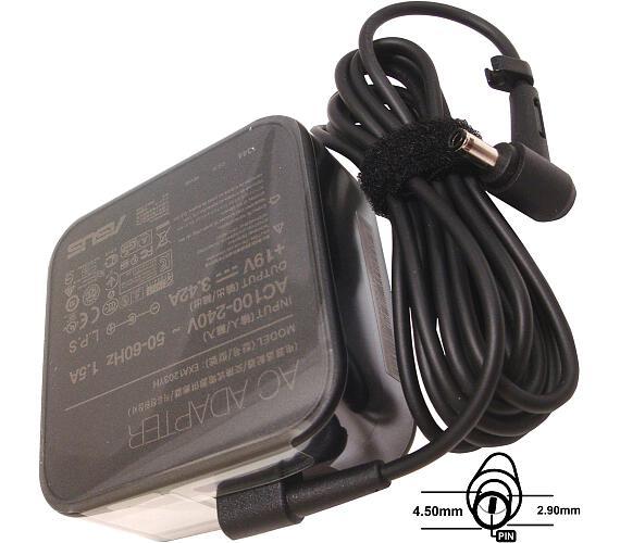 Asus orig. adaptér 65W19V (3PIN) (bez sit. snury) + DOPRAVA ZDARMA