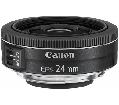 Canon objektiv s pev.ohniskem EF-S 24mm f/2.8 STM + DOPRAVA ZDARMA