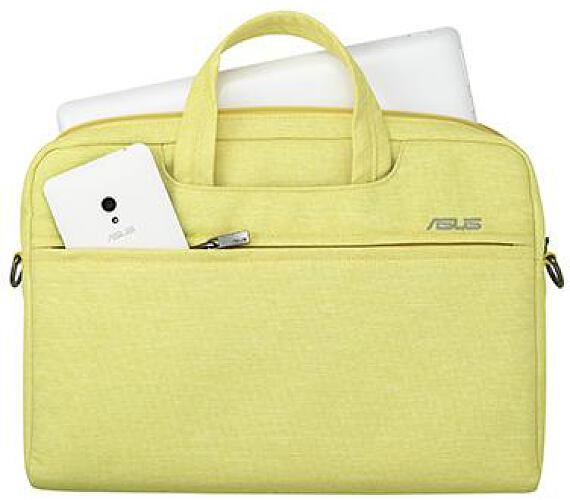 """Asus EOS SHOULDER BAG - 12"""" žlutá (90XB01D0-BBA020)"""